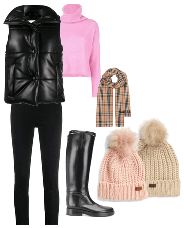 In style -  Warm winter outfit