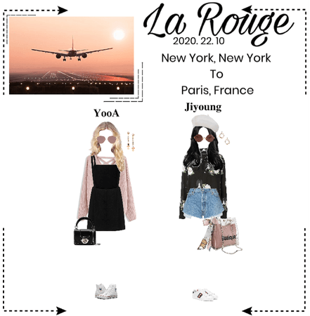 La Rouge [라로그]- Airport Fashion - New York to France (2020. 22. 10)