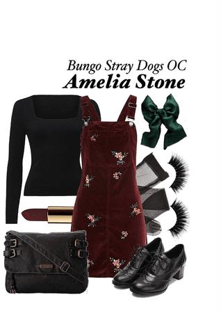 BUNGO STRAY DOGS OC: Amelia Stone