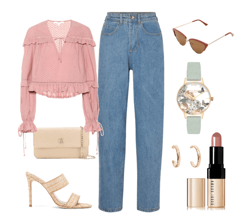 Simple and kind of plain but still cute outfit