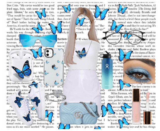 #BlueButterfly Outfit