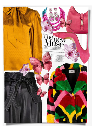 How To Rock A Multicolor Coat