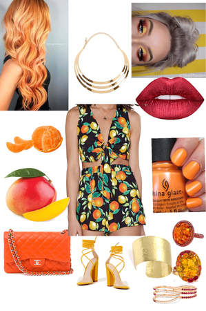 Mango and Orange