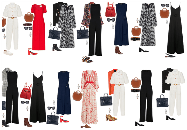 capsule wardrobe n 3 outfits ideas