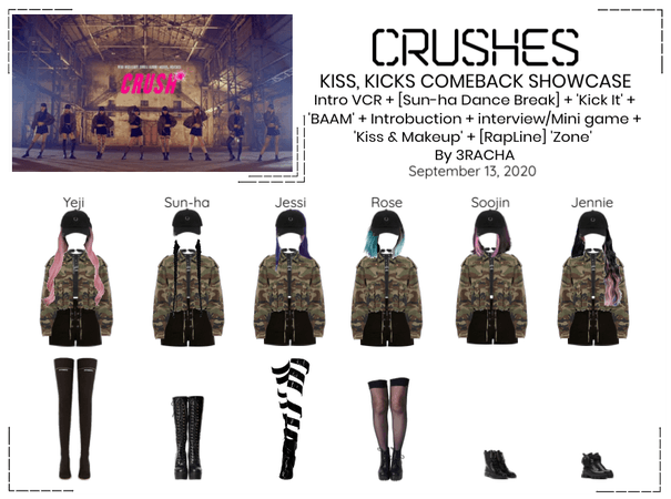 "Crushes (호감) ""Kiss, Kicks"" Comeback Showcase"