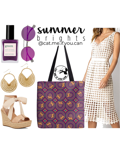 Hello Summer with Kaleidoscope Tote