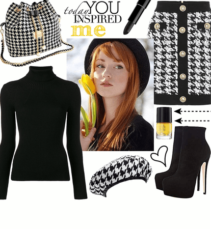 WINTER 2020: Houndstooth Style