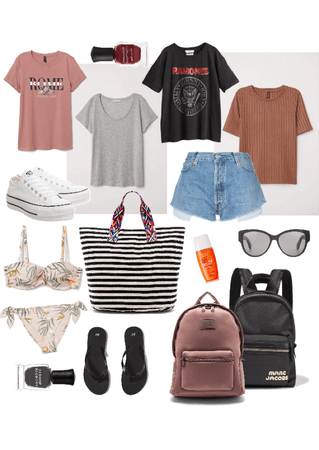 Vacation shorts outfit