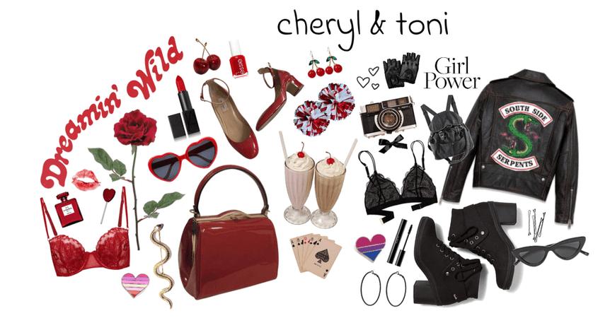 cheryl & toni