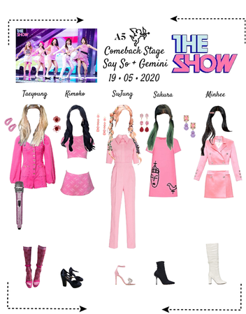 {ACT5} THE SHOW - COMEBACK STAGE