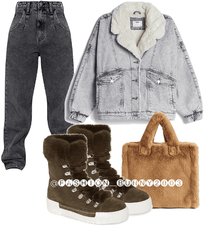 winter cozy outfit | comfy clothes | cute done