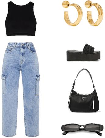baggy jeans 90s fit
