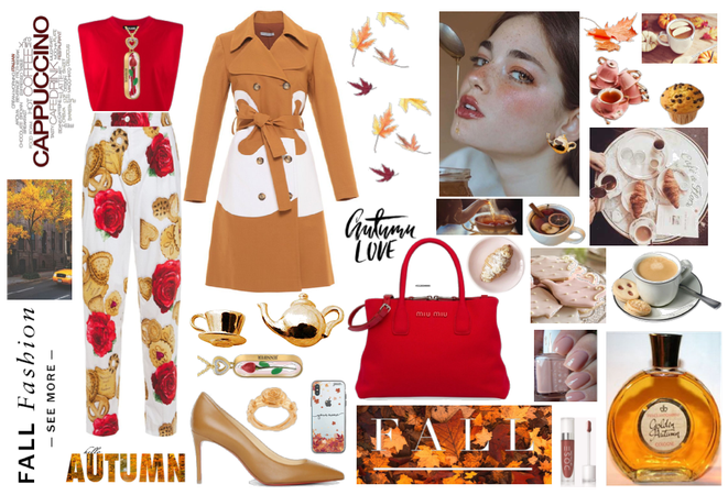 A perfect look for a super woman's fall breakfast!