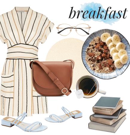 Breakfast palette 🍌🌰