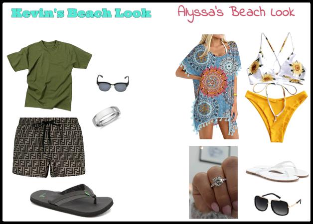 Kaylssa Beach day