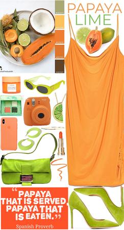 Papaya + Lime