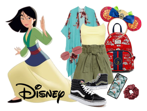 Mulan Inspired Disney Vacation