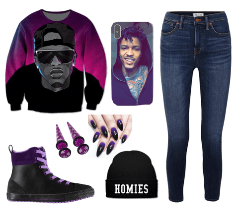 August Alsina Outfit φ