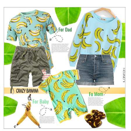 banana fashion for the family