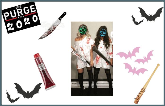 Halloween costume: The purge