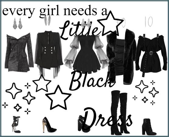 Little Black Dress Lookbook