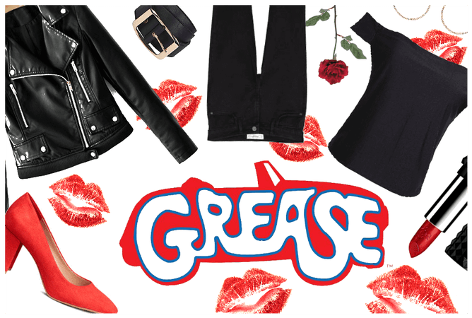Grease movie outfit
