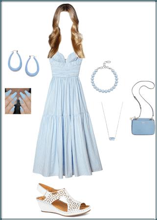 Light Blue Sundress
