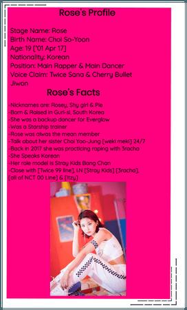 Crushes (호감) Rose Re-Intro