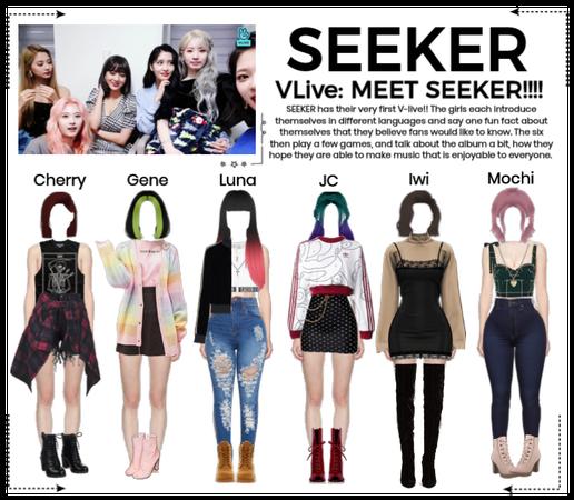 SEEKER - Debut Vlive Stream