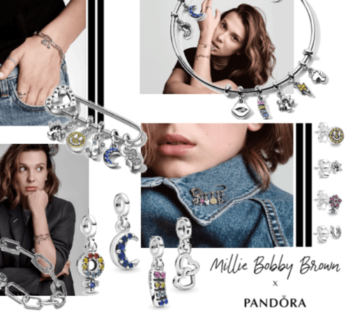 Millie Bobby Brown for Pandora Me
