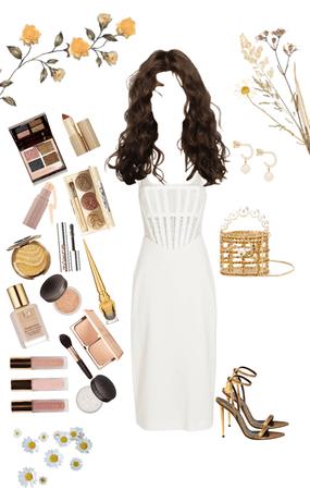 white x gold
