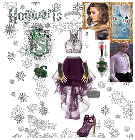 slytherin @ yule ball id probably go with draco