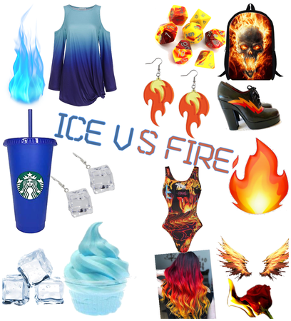 ICE VS FIRE CHALLENGE