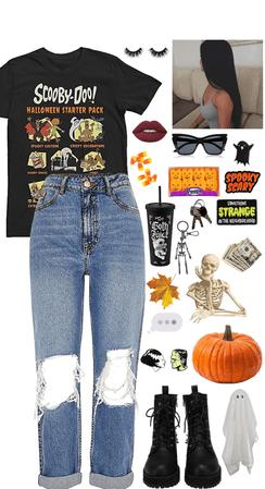halloween decoration hunting