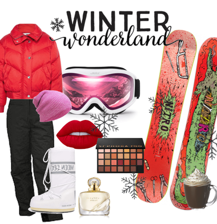 Snowboard in Red