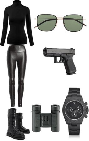 spy girl 👱♀️⌚️📟🎛