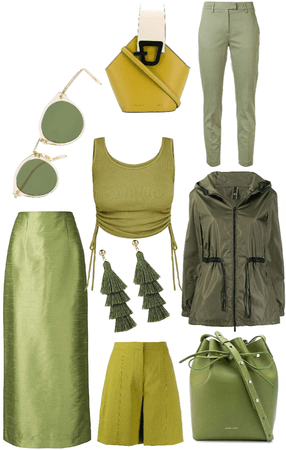 Loving Olive Green this Spring!