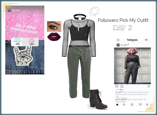 Iris | Followers Pick My Outfit: Day 2