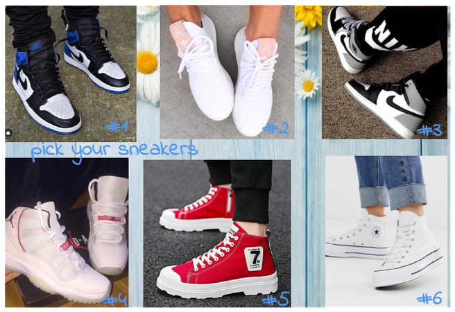 Pick your sneakers