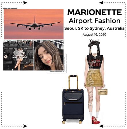 MARIONETTE (마리오네트) [YANGJI] Airport Fashion | Seoul, SK to Sydney, AU