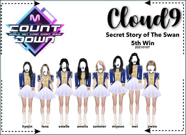 Cloud9 (구름아홉)   MCountdown 5th Win   210107