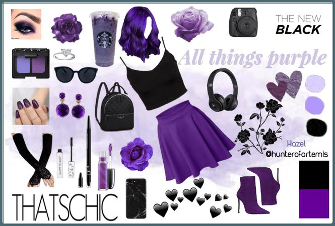 All Things Purple | #BlackPurple @hunterofartemtis