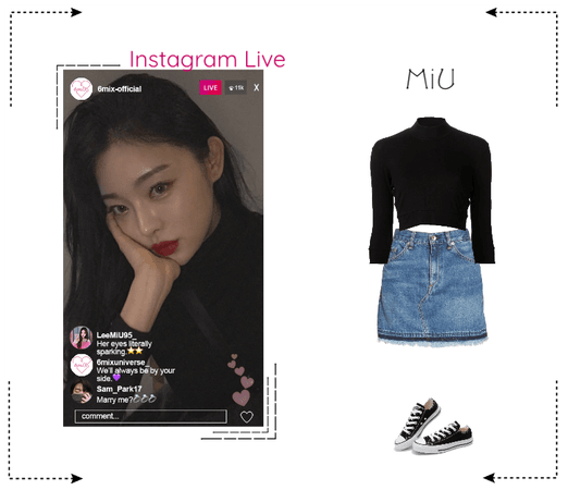 《6mix》Instagram Live - MiU