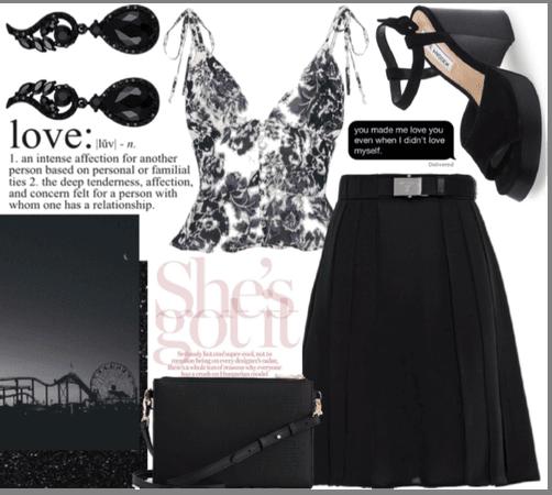 black for spring
