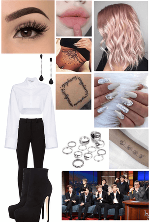 BTS The Late Show with Stephen Colbert Interview Outfit