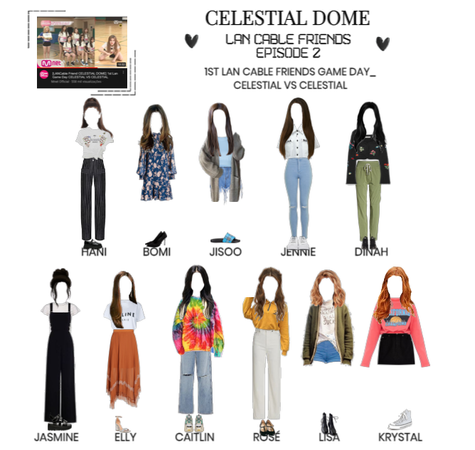 [CELESTIAL DOME] LAN CABLE FRIENDS EP.2