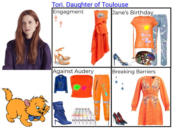 Tori. Daughter of Toulouse. Descendants 3