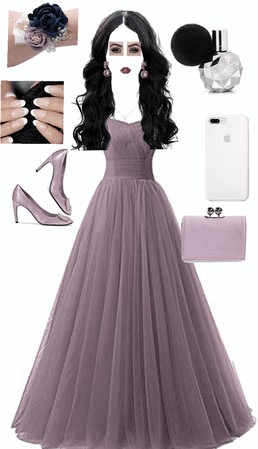 purple prom 💜
