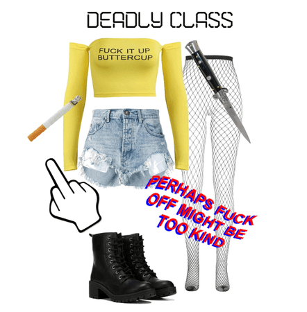 Deadly Class Outfit 2