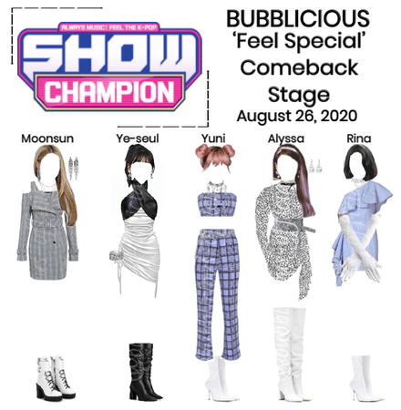 """BUBBLICIOUS (신기한) """"Feel Special"""" Comeback Stage"""